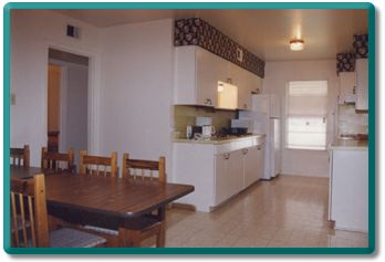 Kitchen/ dining area of San Antonio vacation rental