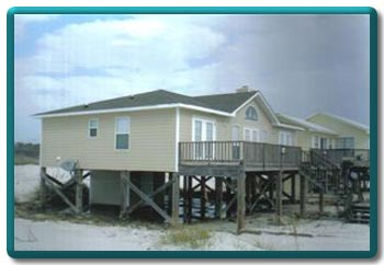 Gulf Shores Ft Morgan 3bdrm Beach House Rental Owner Weekly Three Bedroom